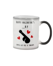 Happy Valentine Get D Tonight Color Changing Mug thumbnail