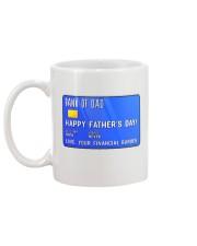 Bank Of Dad Mug back