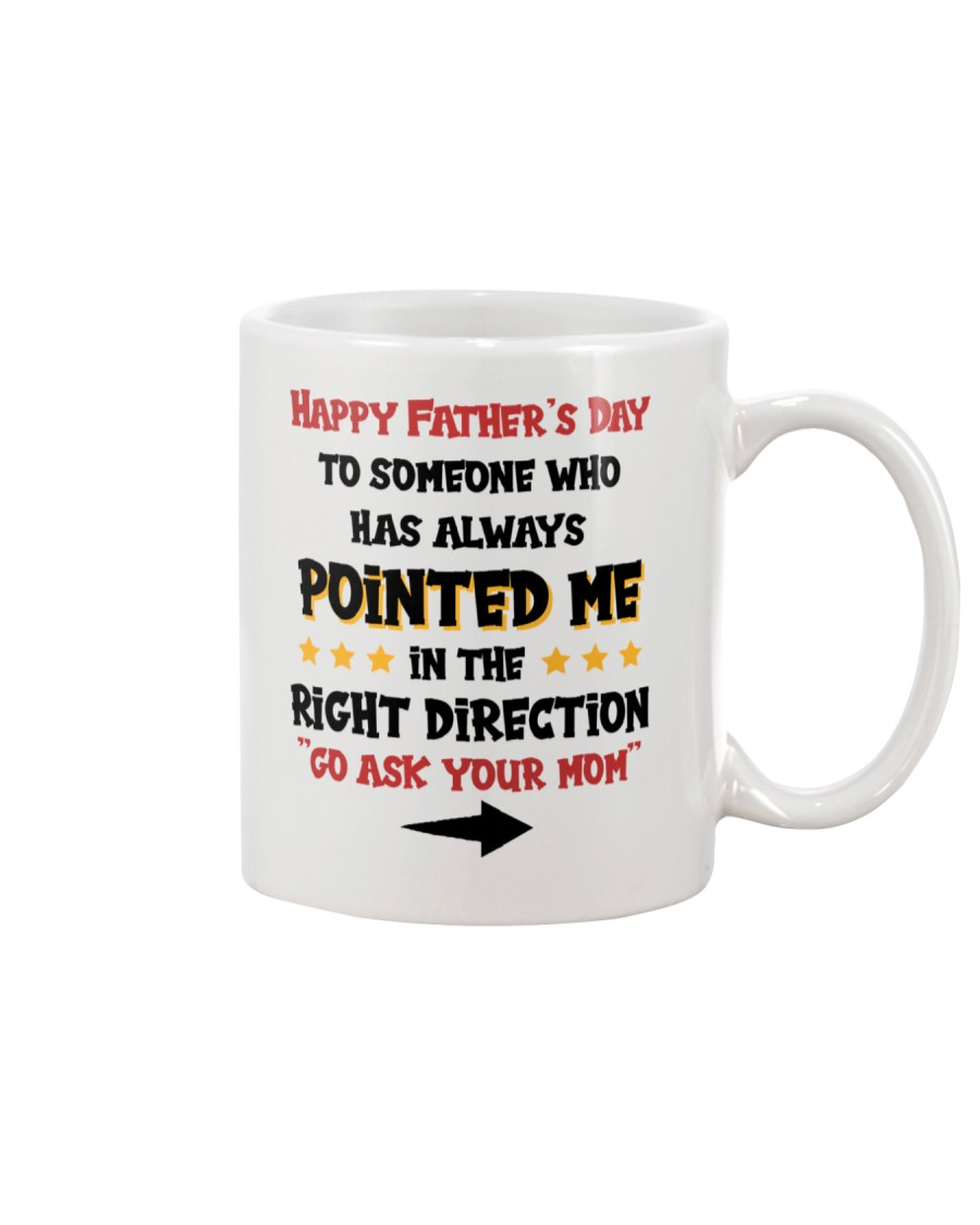 Pointed Me In The Right Direction Mug