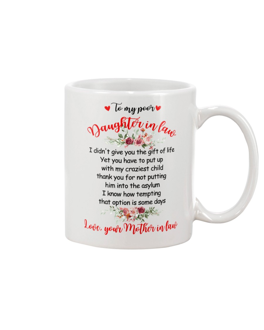 To My Dear Daughter-in-law Mug
