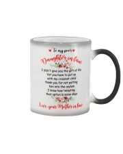 To My Dear Daughter-in-law Color Changing Mug thumbnail