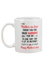 For Never Murdering Mug back