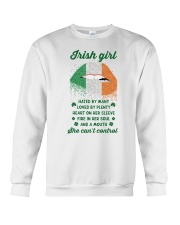 Irish Girl Can Not Control Crewneck Sweatshirt thumbnail