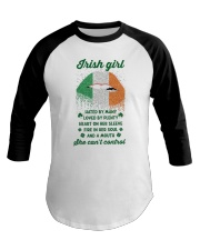 Irish Girl Can Not Control Baseball Tee thumbnail