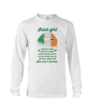 Irish Girl Can Not Control Long Sleeve Tee thumbnail