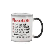 Mom Shit list Color Changing Mug thumbnail
