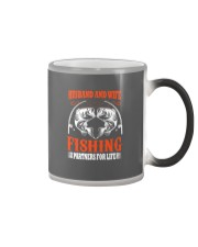 Fishing Partners For Life Color Changing Mug thumbnail