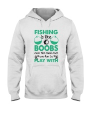 Fishing Like a Boobs Hooded Sweatshirt tile