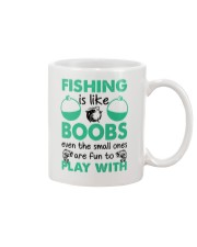 Fishing Like a Boobs Mug tile