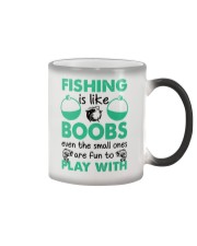 Fishing Like a Boobs Color Changing Mug tile