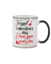 Forget Valentine's day Color Changing Mug thumbnail