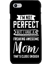 I'm Not Perfect But My Mom Phone Case thumbnail