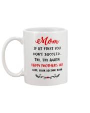 Mom Try Again  Mug back
