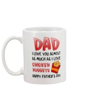 Love As Chicken Nuggets Mug back