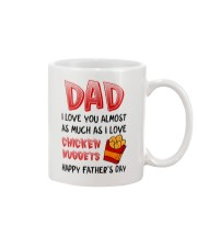 Love As Chicken Nuggets Mug front