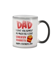Love As Chicken Nuggets Color Changing Mug thumbnail