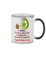 Avocado Mother Color Changing Mug thumbnail