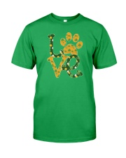 Dog Love St Patrick  Classic T-Shirt front