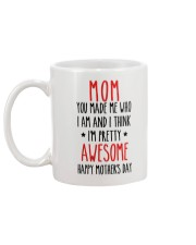 Pretty Awesome Mother Mug back