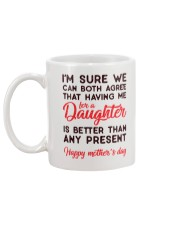 Me For Daughter Mug back