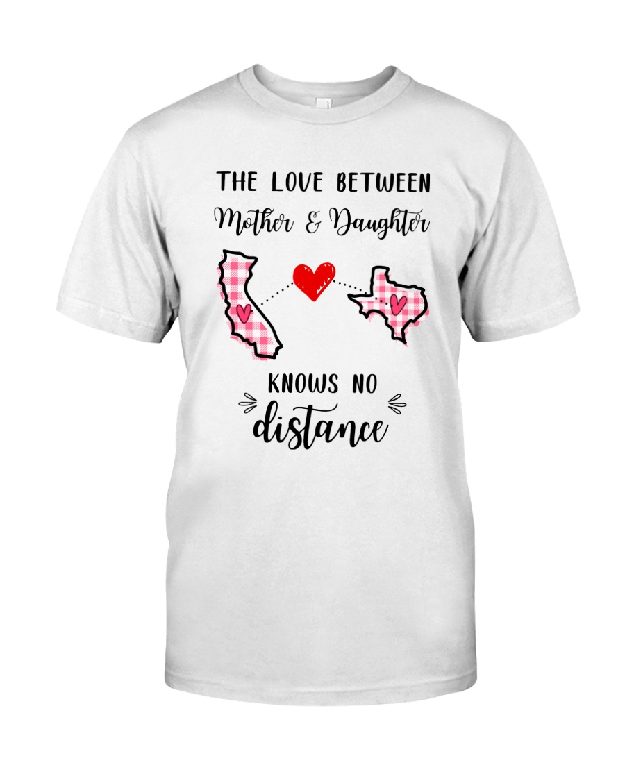 Love Between Mother And Daughter Classic T-Shirt