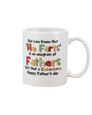 He Farts Anagram Mug front