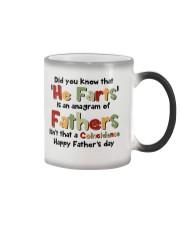He Farts Anagram Color Changing Mug thumbnail