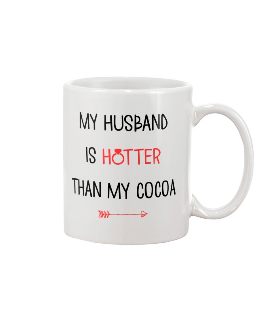Husband Hotter Than Cocoa  Mug