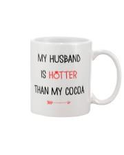 Husband Hotter Than Cocoa  Mug front