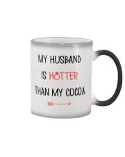 Husband Hotter Than Cocoa  Color Changing Mug thumbnail