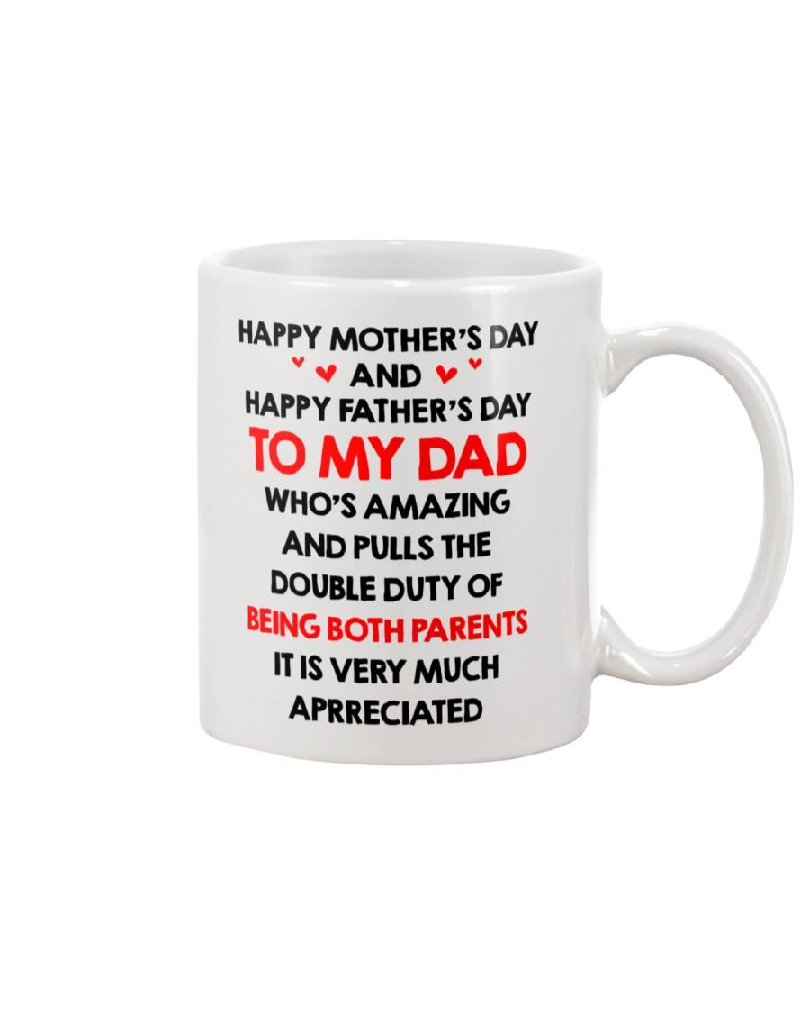 Dad Being Both Parents Mug