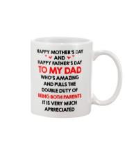 Dad Being Both Parents Mug front