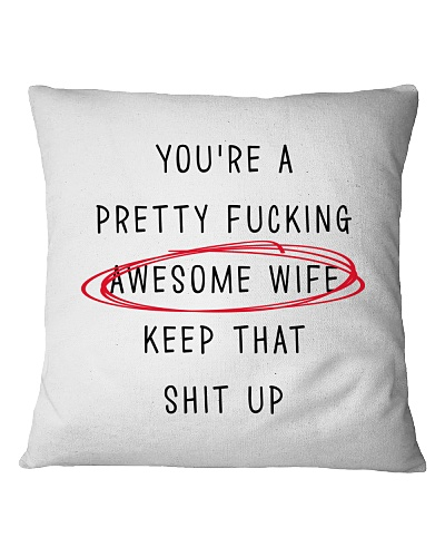 Awesome Wife Pillow