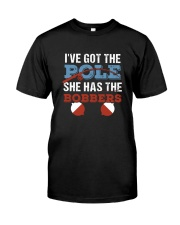 She Has The Bobbers Premium Fit Mens Tee tile