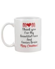 Beautiful Face And Genius Brain Mug back
