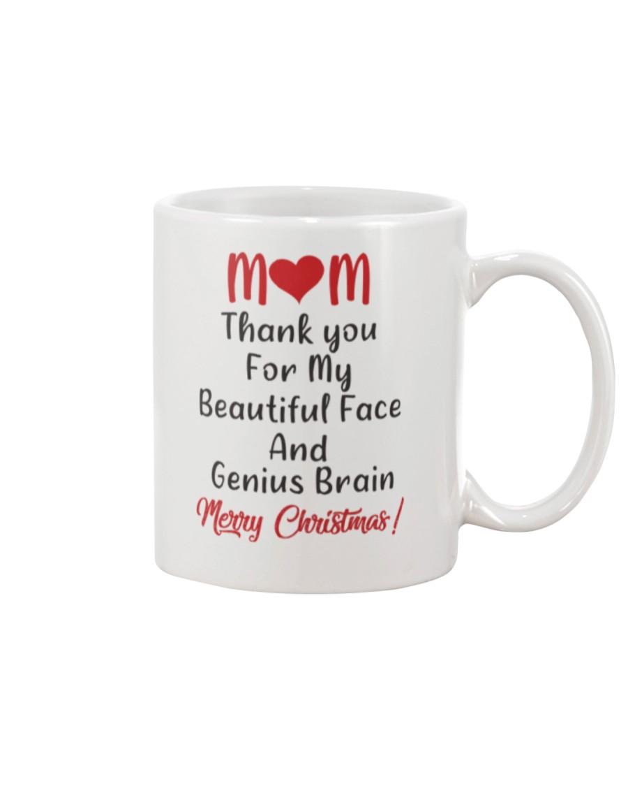 Beautiful Face And Genius Brain Mug