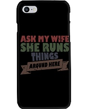 My wife runs things Phone Case thumbnail