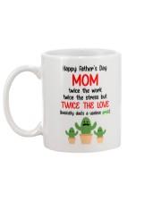 Twice The Love Single Mom Mug back