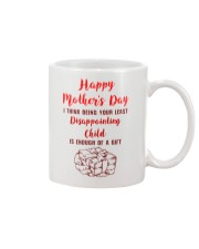 Least Disappointing Child Enough Gift Mug front