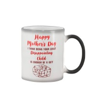 Least Disappointing Child Enough Gift Color Changing Mug thumbnail