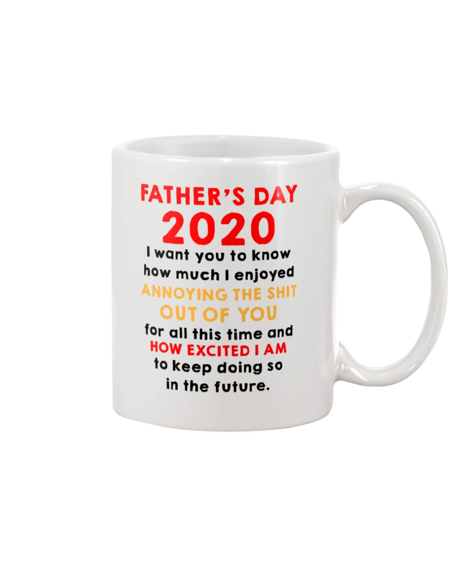 Father's Day 2020 How Excited I Am AUS Mug