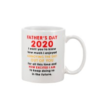 Father's Day 2020 How Excited I Am AUS Mug front