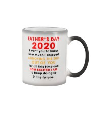 Father's Day 2020 How Excited I Am AUS Color Changing Mug thumbnail