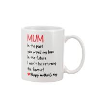 Mum Wiped My Bum  Mug front