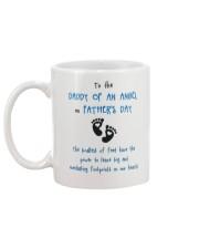Daddy Of An Angel Mug back