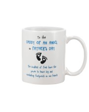 Daddy Of An Angel Mug front