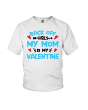 My Mom is Valentine Youth T-Shirt front