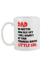Be Your Financial Burden Mug back
