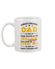 Million Ways Dad Love Us Mug back