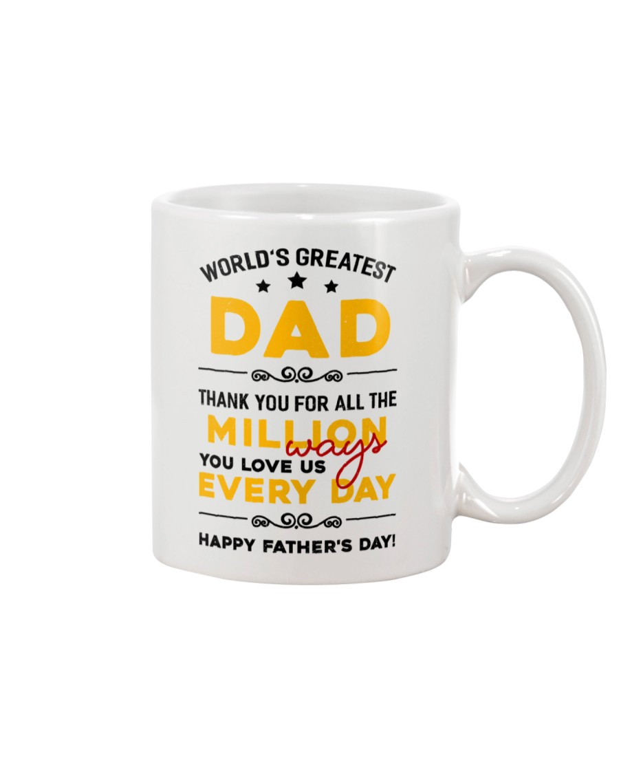 Million Ways Dad Love Us Mug